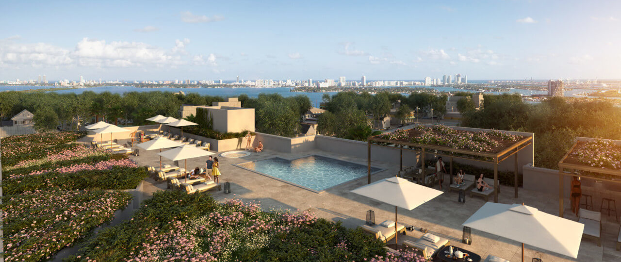01 MiMo Condominiums Rooftop Pool