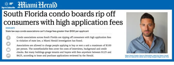 Miami Condo Managers Are Charging Illegal Application Fees