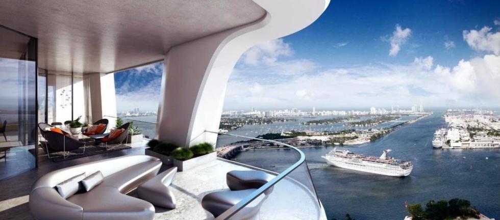 Miami's 50 Million Dollar Penthouse Condominiums