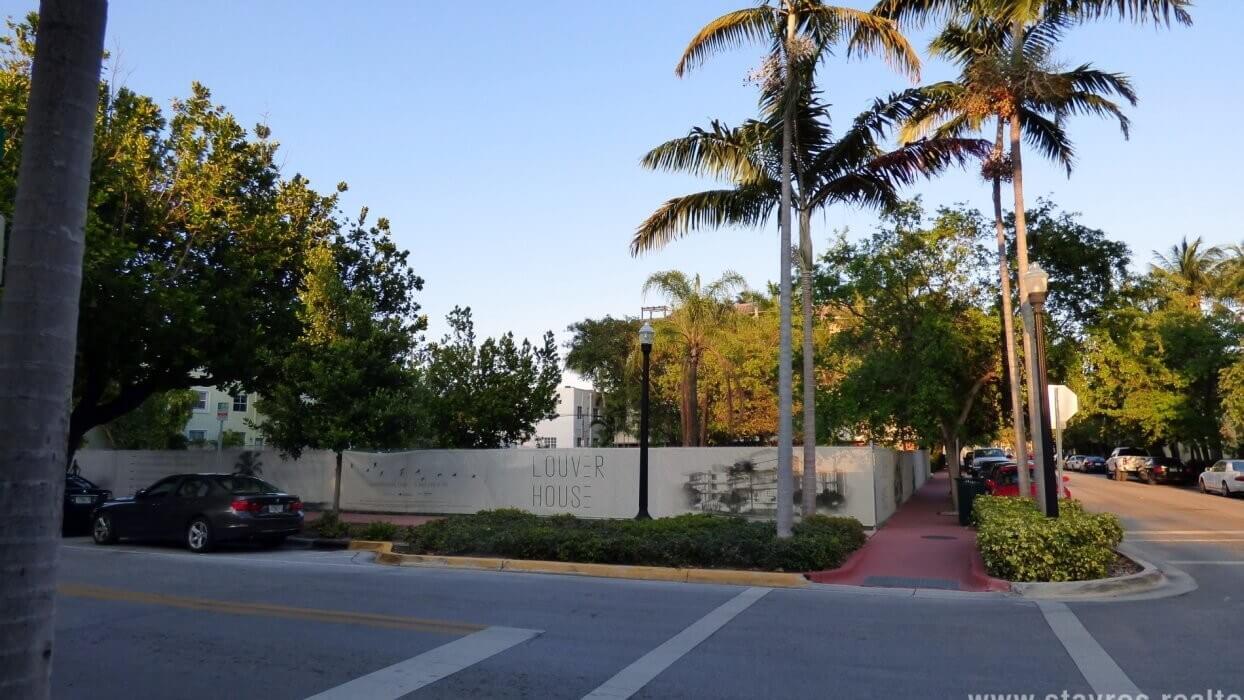 Future Location of Louver House Miami Beach