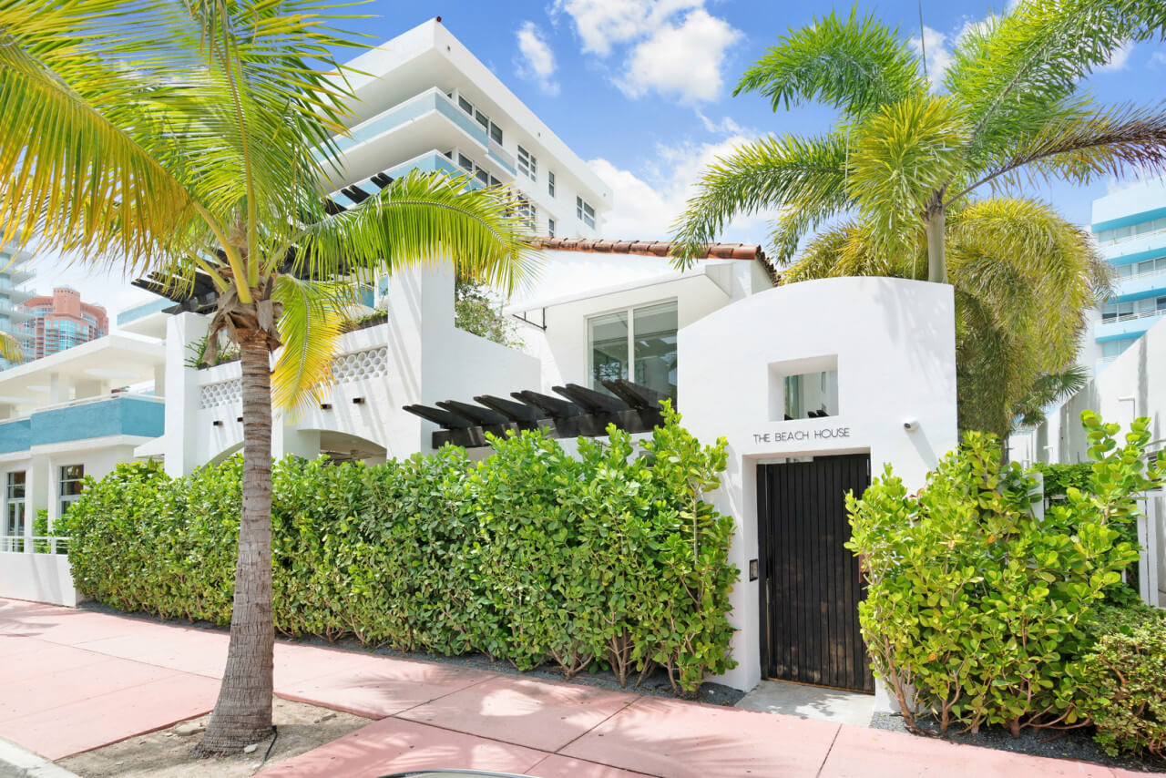 The only private home on ocean drive in miami is for sale for Homes for sales in miami
