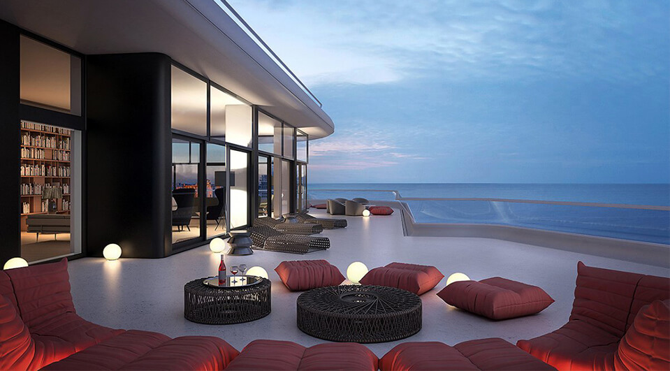 Miami 39 s 50 million dollar penthouse condominiums for 50 million dollar homes